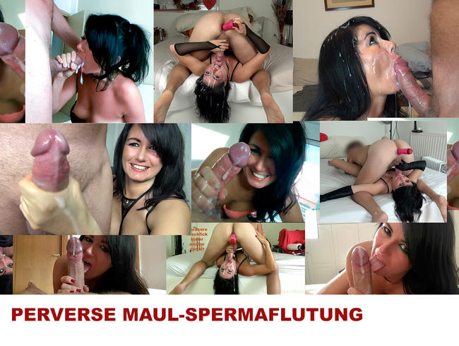 PERVERSE MAUL-SPERMAFLUTUNG! Best of
